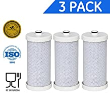 Icepure RFC2300A-3PACKR placement Water Filter For Aeg, Frigidaire, Hoover,Kenmore,Otsein, Puresource Fridge