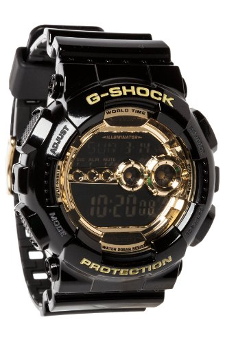 Black Resin G Shock Digital Strap