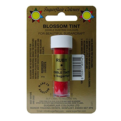 Sugarflair Blosom Tint Edible Dusting Powder - Ruby