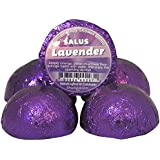 LAVENDER 5 PACK SHOWER BOMBS ★ NATURAL Shower Aroma Fizzy ★ Handcrafted in the USA