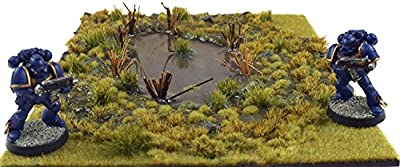 Battleground 10mm Self Adhesive Grass Tufts – CHOOSE YOUR COLOUR Warhammer Miniatures Model from WWS
