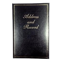 Esposti Address Book Large Plain