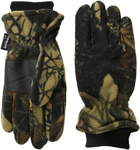 Quietwear Men's Waterproof Fleece Glove with Cuff 40 GR Thinsulate, Adventure Brown, ()