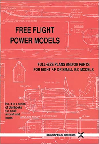 Free Flight Power Models (Small Model Planbooks S ): Amazon