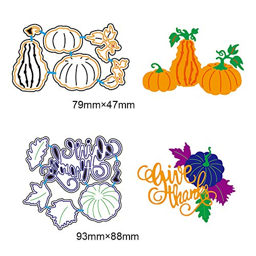 2 Set DIY Metal Cutting Dies 3D Halloween