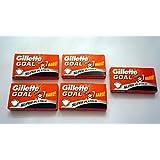 Gillette GOAL Super Platinum Double Edge Razor Blades (25)