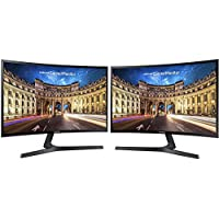 Samsung C27F398FWN 27 Screen LED-lit Dual Monitor