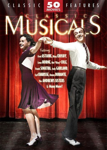 Classic Musicals - 50 Movie Pack: Royal Wedding - Second Chorus - Stage Door Canteen - Breakfast in Hollywood - Hi-De-Ho + 45 more! (Dvd Classics Movie)