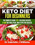 Best Keto Diet Books - Keto Diet For Beginners: The Complete Guide-222+ Delicious Review