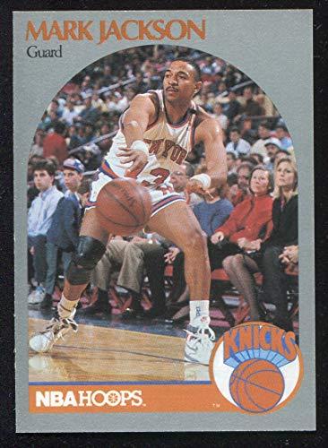 1990 Hoops Basketball Card (1990-91) #205 Mark Jackson Near Mint/Mint ()