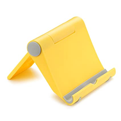 SUMAX Yellow Multi-Angle Phone Holder Smartphone Desk Stand for iPhone 6 6 plus 8