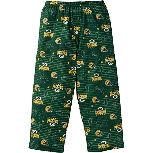 NFL Green Bay Packers Boys Sleep Pants, 0.9, Green