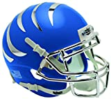 Schutt NCAA Memphis Tigers Mini Authentic XP Football Helmet, Satin Blue Alt. 4, Mini