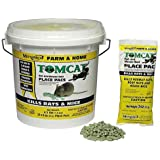 MOTOMCO Tomcat Mouse and Rat Pack/Pail, 3-Ounce, 22 Count Pail