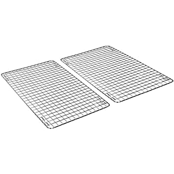 Amazon Com Decobros 2 Pack 10x16 Inches Cooling Rack Wire