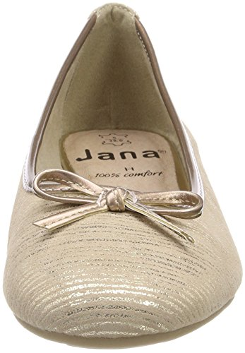 Rosa Jana Ballerine 22100 Powder Donna Gold f86FR