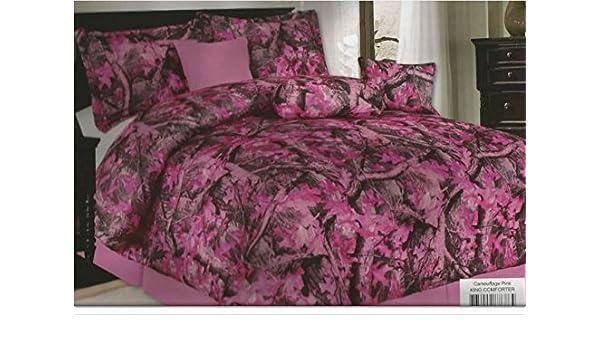 Amazon.com: 7 piece Comforter Bedroom Set,King Size ...