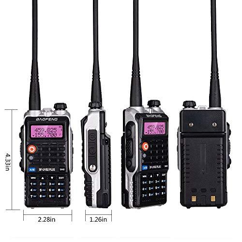 QIANGHONG UV-B2PLUS Dual Band Two Radios 8 Long Range Talkies