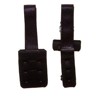 60796e8444 Perfection Women s Adjustable Low Back Bra Converter - Black 2 Hook ...