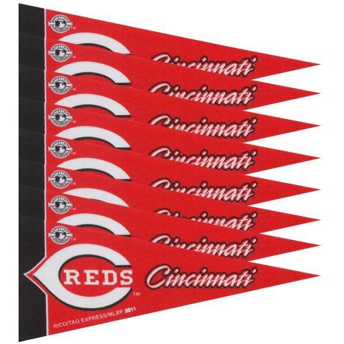 Cincinnati Reds MLB Mini Pennant Set (8)