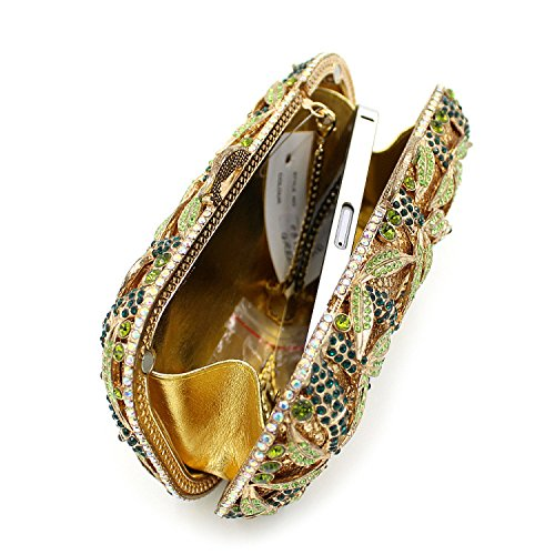 WYB Baihe Luxus-Diamant-Abendbeutel / High-End-Handabendbeutel / Kleidbeutel