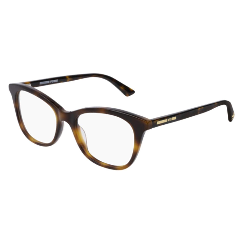 Eyeglasses Alexander McQueen MQ 0169 O 002 HAVANA //