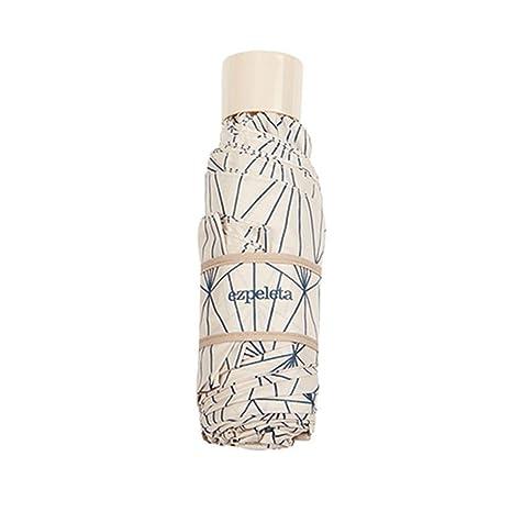 Le Monde du Parapluie Mini fournie avec housse - résistant au vent Motifs scandinaves Blanc Paraguas