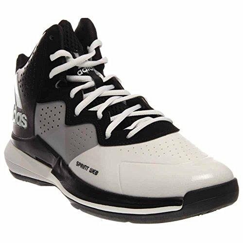Adidas Men`s Intimidate Basketball Shoe, 11.5, WHITE / (Www Adidas Shoes)