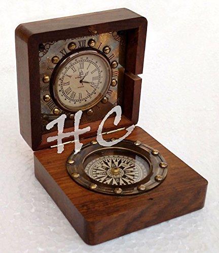 Replica Desk Clock (Brass Desk Clock 3