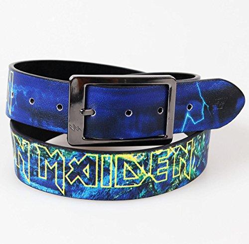 Lowlife Iron Maiden Cinturón de cuero en color