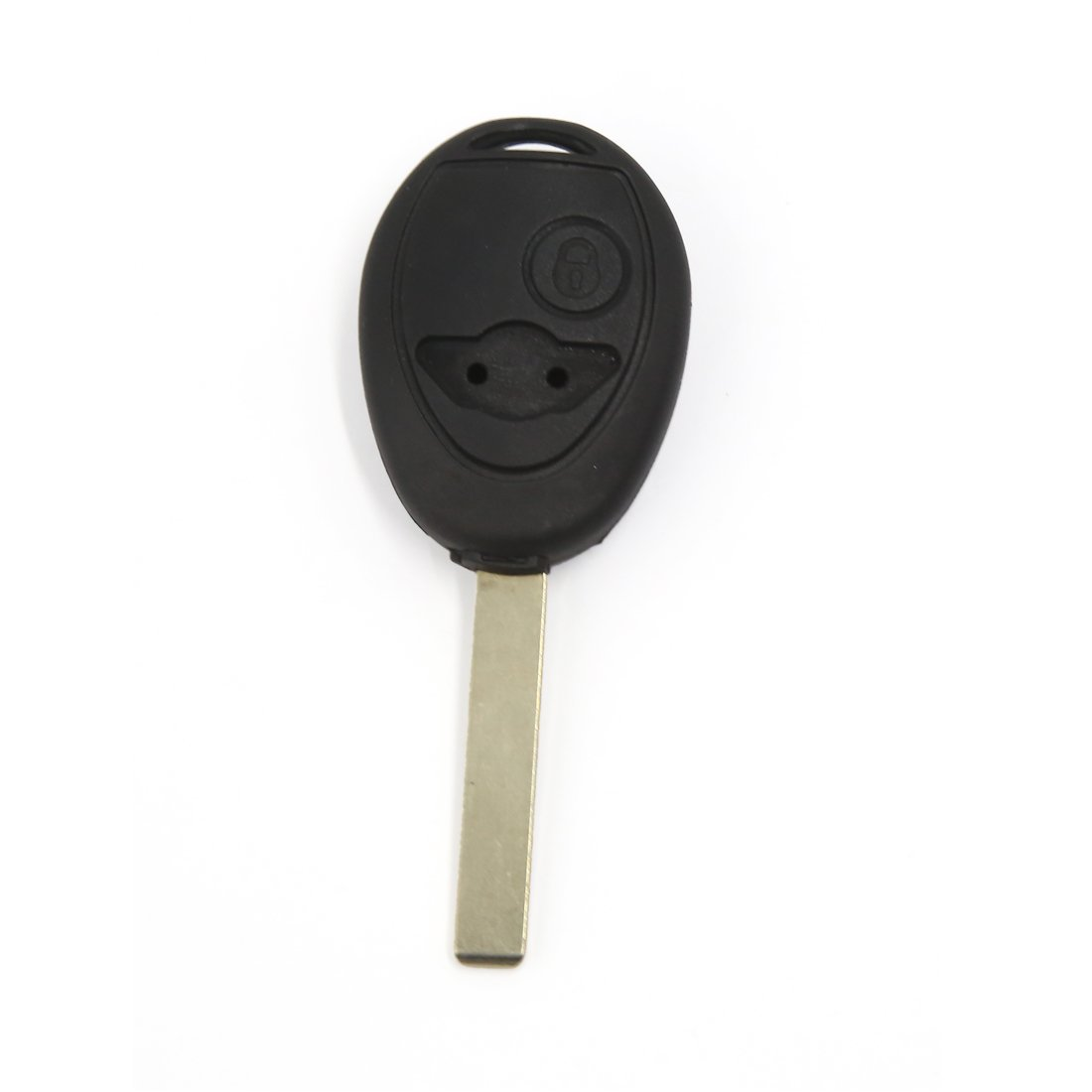 uxcell NEW Black 2 Button Keyless Entry Remote Key Fob Case Shell Uncut Blade for BMW