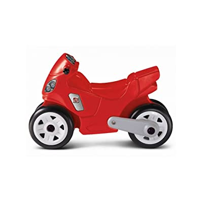 Motorcycle Realistic Headlights Taillights : Childrens Ride Ons : Baby