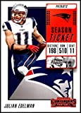 2018 Panini Contenders Season Tickets #38 Julian Edelman NM-MT New England Patriots Official NFL Football Card