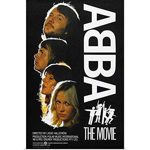 GREATBIGCANVAS Poster Print Entitled ABBA: The Movie for sale  Delivered anywhere in USA