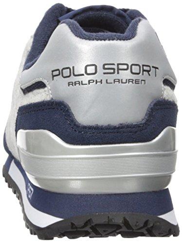 Polo Ralph Lauren Mens Slaton Pony Fashion Sneaker Marine