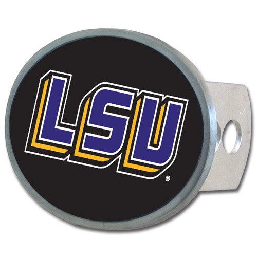 NCAA Louisiana State Fightin Tigers Oval Hitch Cover ()