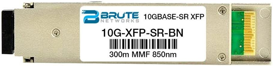 10GBASE-SR 300m 850nm XFP Transceiver Brute Networks 10G-XFP-SR-BN Compatible with OEM PN# 10G-XFP-SR