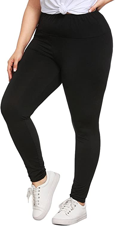Amazon Com Star Wuvi Plus Size Yoga Pants Women S Workout Running Leggings Trousers Athletic Pants Stretch Yoga Tights Black Clothing