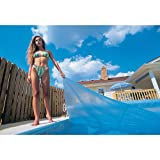 Blue Wave 16-Feet x 24-Feet Rectangular 12-mil Solar Blanket for In Ground Pools, Blue