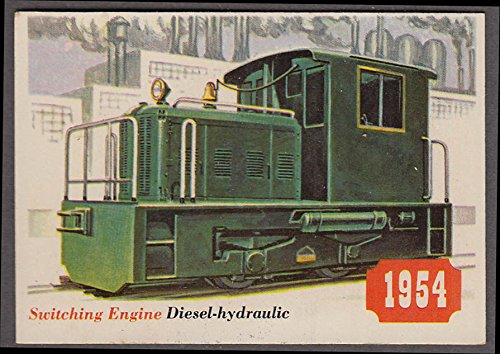 1955 Topps Rails & Sails #45 Diesel-hydraulic Industrial Switching - Hydraulic Locomotive Diesel