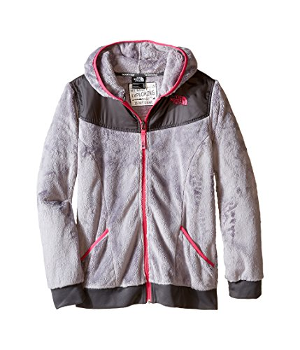 The North Face Girl apos;s Oso Hoodie Metallic Silver M