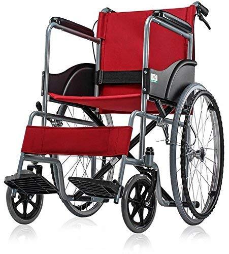 MEDE-MOVE SLN basic wheel chair foldable (RED)LP