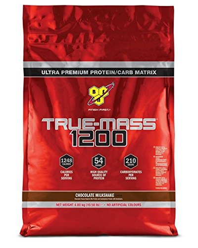 BSN 4.8Kg Chocolate True Mass 1200 by BSN