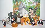 Disney The Jungle Book Deluxe Mini Cupcake Decorations Set of 12 Figures