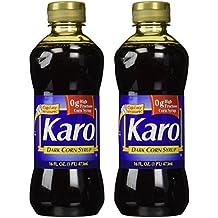 Karo Dark Corn Syrup, 16 Fl. Oz., (Pack of 2)