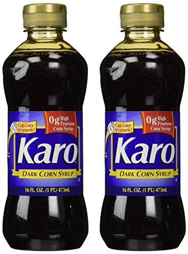Karo Dark Corn Syrup, 16 Fl. Oz., (Pack of 2) (Corn Syrup Bulk)