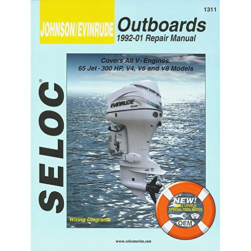 Seloc Service Manual - Johnson/Evinrude - All V Engines - 1992-01