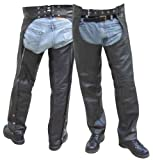 Leather Chaps - Leatherbull (Free U.S. Shipping) (S)