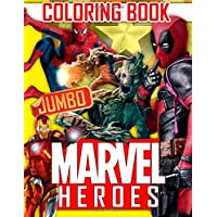 MARVEL Heroes JUMBO Coloring Book: 61 Exclusive Illustrations
