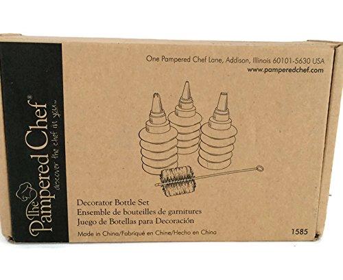 Pampered Chef The Decorator Bottle Set #1585